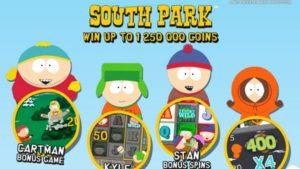 South Park slot game