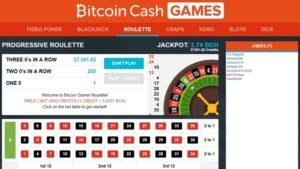 bitcoin.com's bitcoin cash games platform