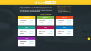 bitcoin casino games list