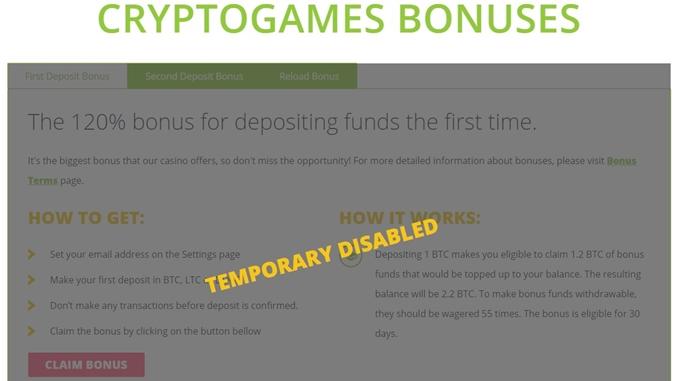 cryptogames suspended bonus