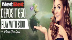 netbet casino deposit bonus