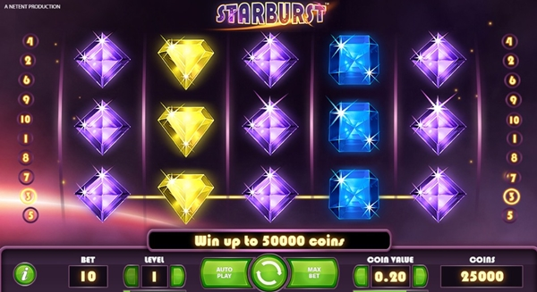 starbust slot game wheels
