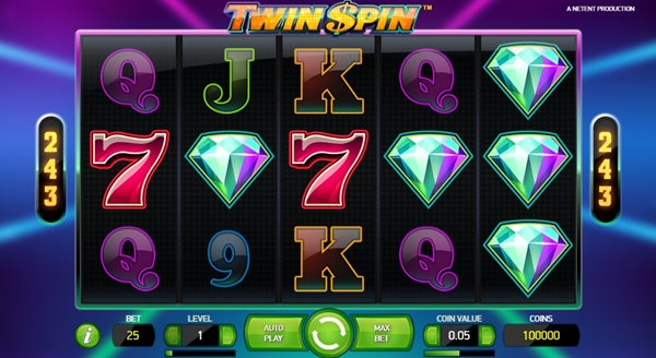 twin spin slot game wheels