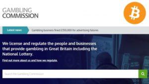 uk gambling commission web page bitcoin