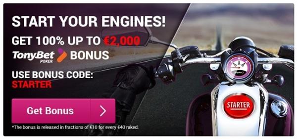 tonybet casino bonus offer